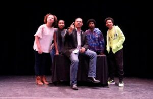 """Oliver Thomas Leads Actors in Stage Play about """"Missing"""" Black History"""