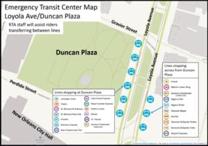 RTA to Relocate Transit Hub to Duncan Plaza Beginning Sunday