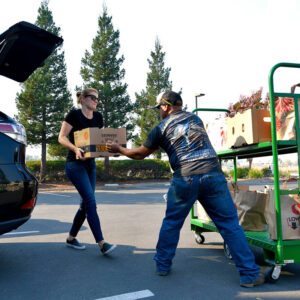 Drive-up Food Pantry for Hospitality and Gig Economy Workers Extended During Stay-at-Home Order